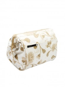 Make-up bag Beige & Cream (Small)