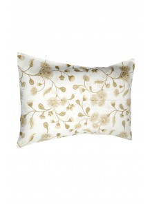 Pillow Case Cream & Beige Set of 2