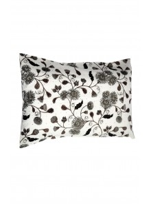 Pillow Case Black & Brown Set of 2