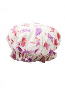 Infants Shower Cap animal print