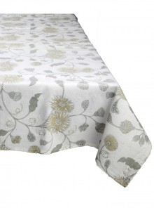 Table Cloth Grey and Beige