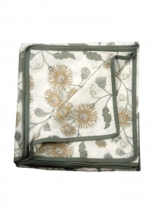 Summer Quilt, Lounge Throw-Grey and Beige