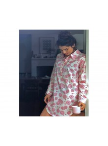 Long Shirt Bush Blossom Pink