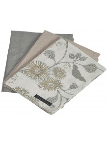 Kitchen Towel Gift Set Grey and Beige